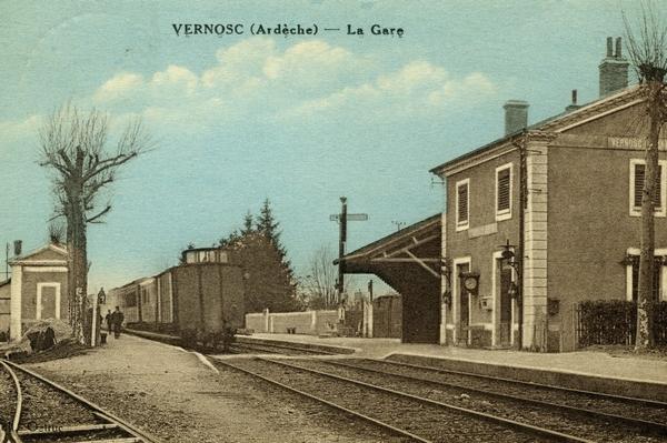 Gare de Vernosc-Les-Annonay avec Sound 4 Museum