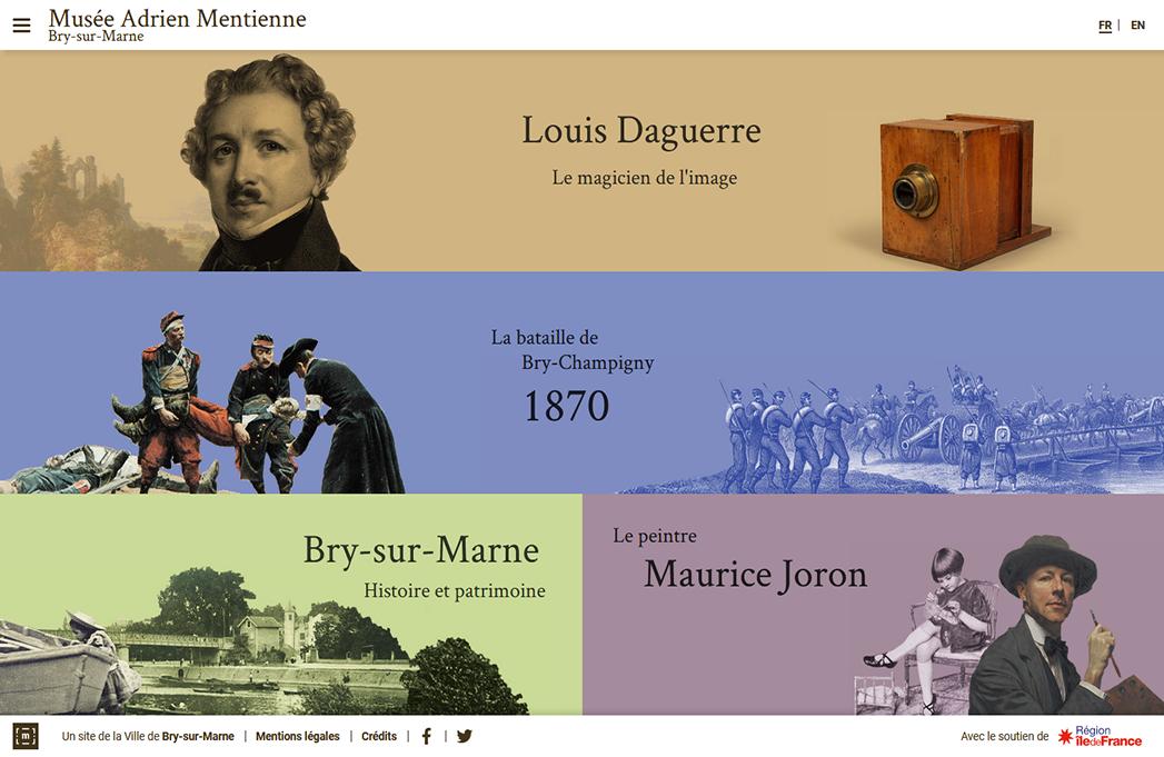 Musée Adrien Mentienne avec Sound 4 Museum